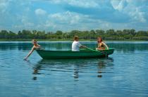 1 - Стеклопластиковая Лодка Голавль