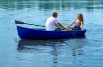 1 - Стеклопластиковая лодка Дельфин