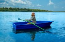 1 - Стеклопластиковая лодка Малютка