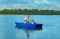 2 - Стеклопластиковая лодка Малютка