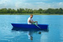 4 - Стеклопластиковая лодка Малютка