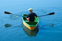 6 - Стеклопластиковая лодка Малютка