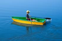 7 - Стеклопластиковая лодка Малютка