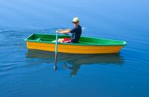 8 - Стеклопластиковая лодка Малютка