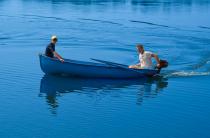 3 - Стеклопластиковая лодка Омуль