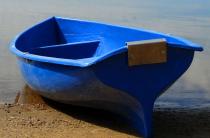 6 - Стеклопластиковая лодка Омуль