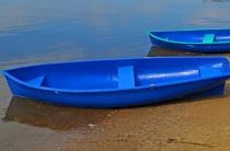 7 - Стеклопластиковая лодка Омуль
