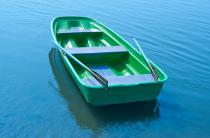 8 - Стеклопластиковая лодка Старт (тримаран)