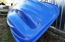 5 - Стеклопластиковая лодка Старт (тримаран)