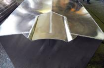 1 - Туннель под водомет на алюминиевый катер