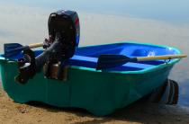 3 - Стеклопластиковая лодка Старт (тримаран)