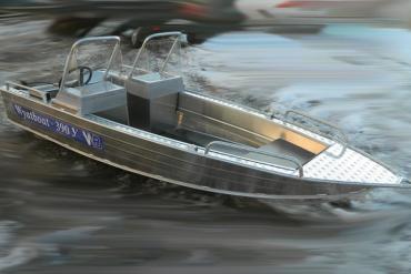 Wyatboat-390У с 2 консолями
