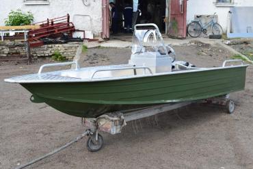 Wyatboat-390 У с консолью